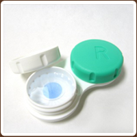photo of contact lens case
