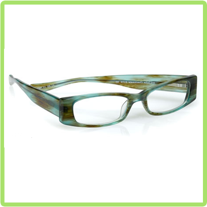 eyebobs Checkmate in Blue Green Seaweed