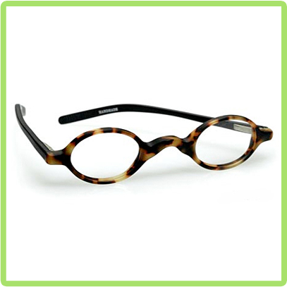 eyebobs Old Money in Tortoise front with black temples