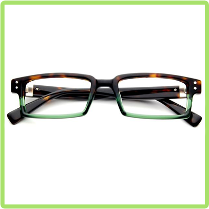 Quentin in Dark Tortoise Green
